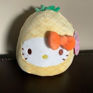"""HELLO KITTY PINEAPPLE 8"""" NWT SQUISHMALLOW LAST ONE"""